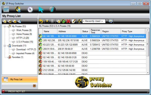 Vorschau ST-ProxySwitcher - Bild 1