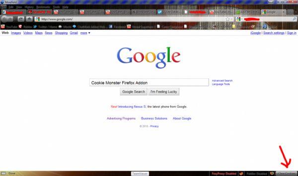 Vorschau Cookie Cutter for Firefox - Bild 1