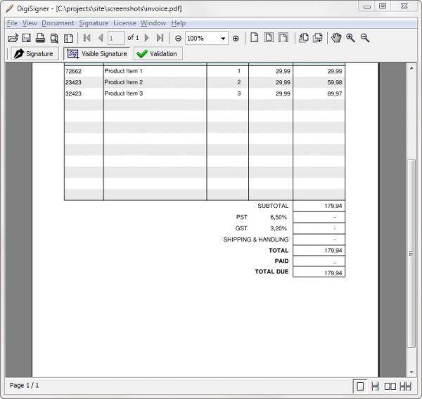Vorschau DigiSigner for Mac - Bild 1