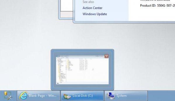 Vorschau Dual Monitor Taskbar - Bild 1