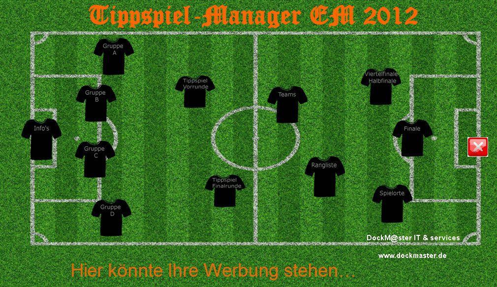 Vorschau EM2012 Tippspiel-Manager - Bild 1