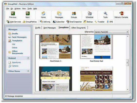 Vorschau GroupMail - Free Edition - Bild 1
