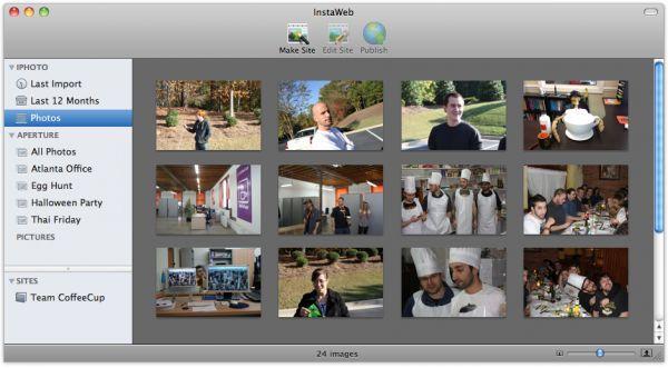 Vorschau CoffeeCup InstaWeb for Mac - Bild 1