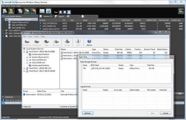 Vorschau NTFS Recovery Toolkit - Bild 1