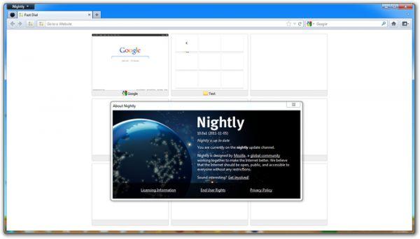 Vorschau Fast Dial for Firefox - Bild 1