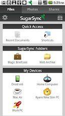 Vorschau SugarSync for Android - Bild 1