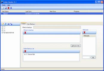 Vorschau Folder Backer and Archiver - Bild 1