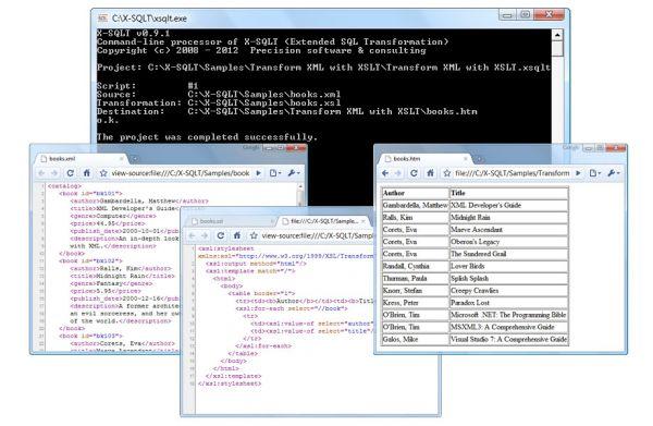 Vorschau X-SQLT - Bild 1