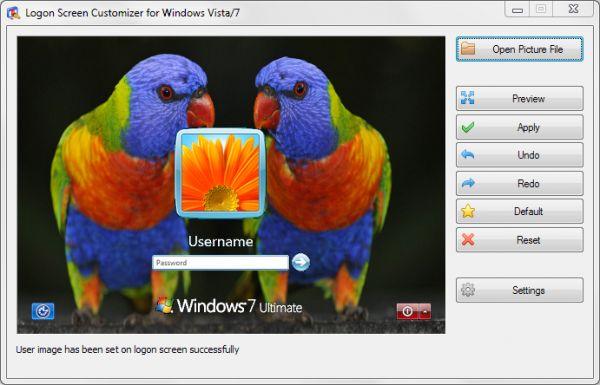 Vorschau VSLogonScreenCustomizer - Bild 1