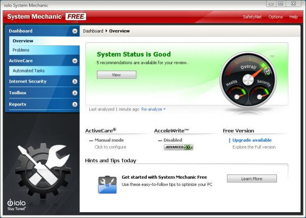 Vorschau System Mechanic Free - Bild 1
