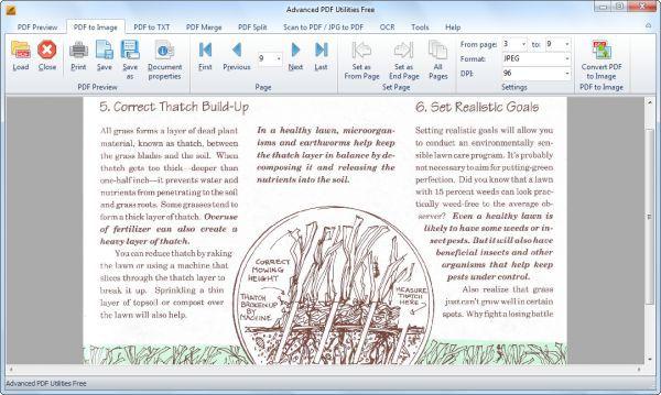 Vorschau Advanced PDF Utilities Free - Bild 1