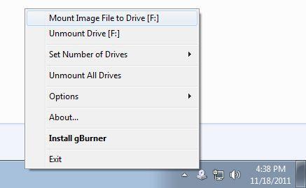 Vorschau gBurner Virtual Drive - Bild 1