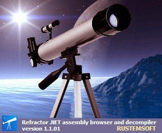 Vorschau Refractor freeware .NET Decompiler - Bild 1