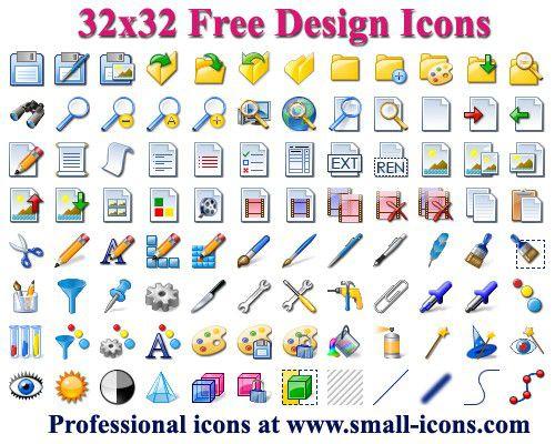 Vorschau 32x32 Free Design Icons - Bild 1
