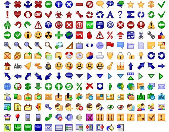 Vorschau 24x24 Free Button Icons - Bild 1