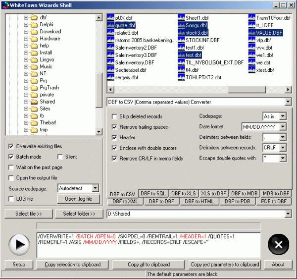Vorschau DBF Converters Shell - Bild 1