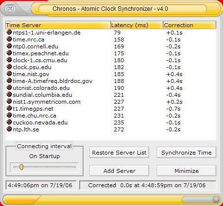 Vorschau Chronos Atomic Clock Synchronizer - Bild 1