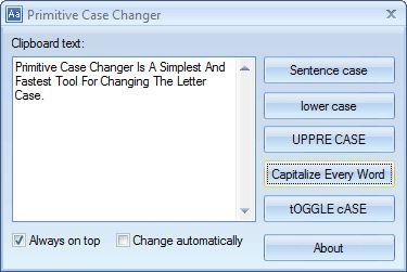 Vorschau Primitive Case Changer - Bild 1