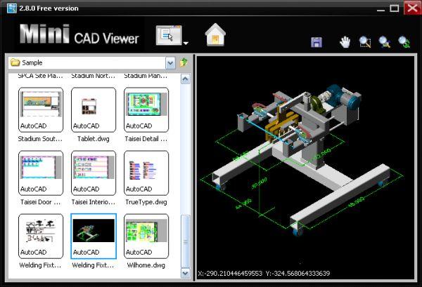 Vorschau Mini CAD Viewer - Bild 1