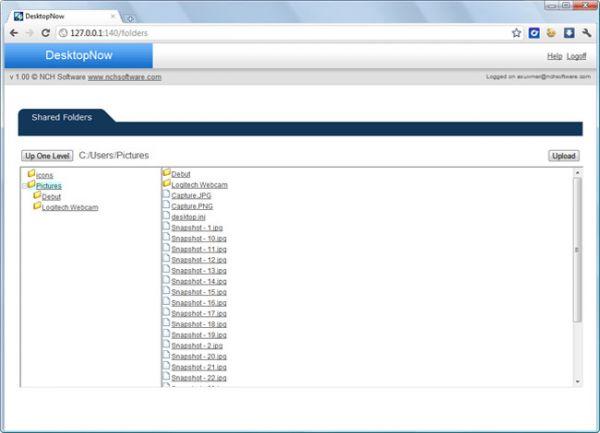 Vorschau DesktopNow Remote Computer Access - Bild 1