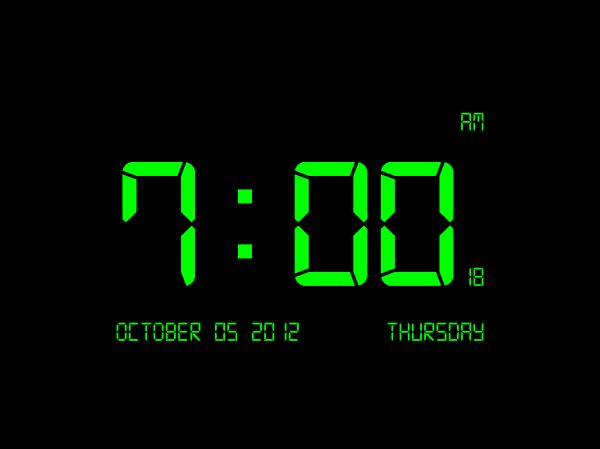 Vorschau Digital Clock-7 - Bild 1