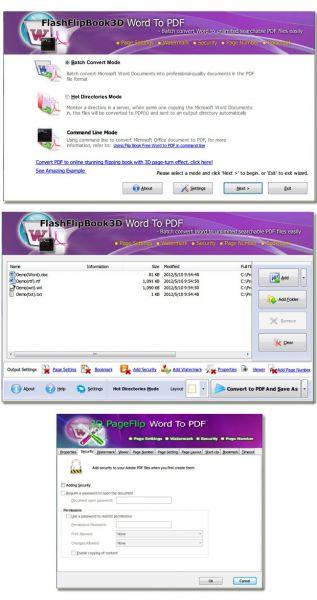 Vorschau Page Turning Free Word to PDF - Bild 1