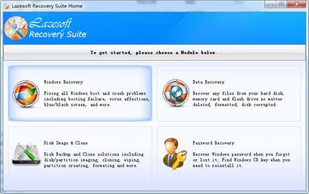 Vorschau Lazesoft Recovery Suite Home - Bild 1