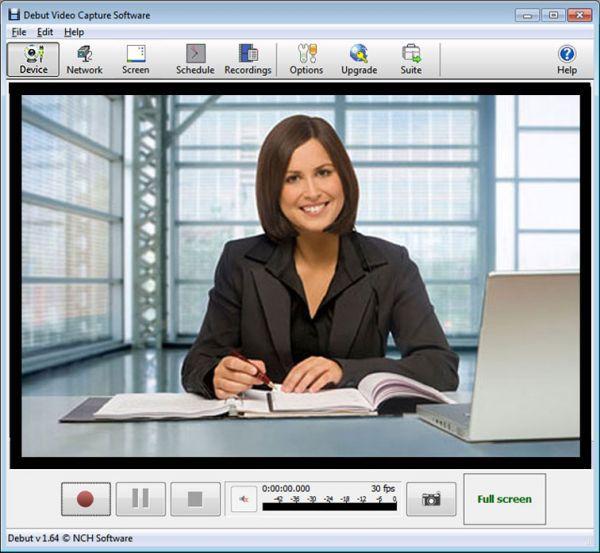 Vorschau Debut Kostenlose Video-Aufnahmesoftware - Bild 1