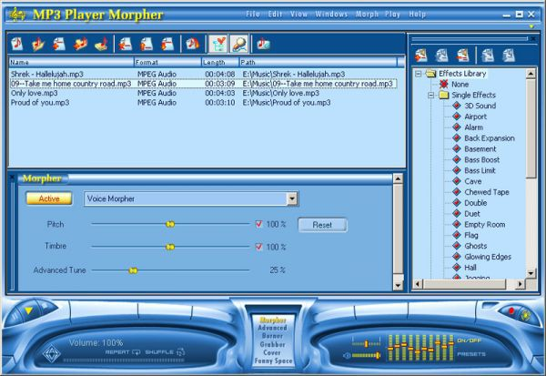 Vorschau AV MP3 Player Morpher - Bild 1