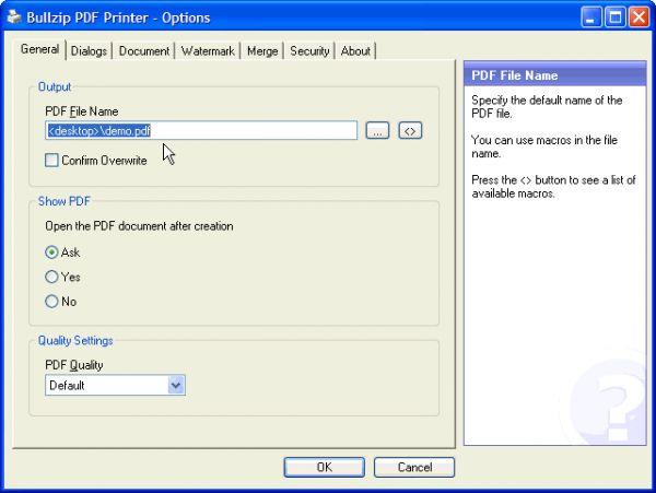 Vorschau PDF Printer - Bild 1
