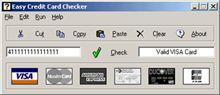 Vorschau Easy Credit Card Checker - Bild 1