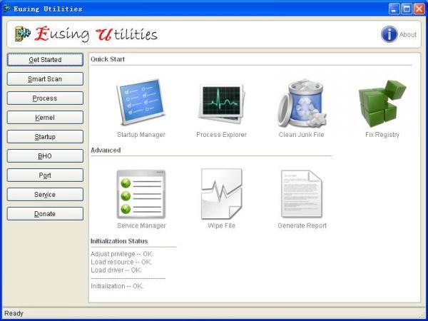Vorschau Eusing Utilities - Bild 1