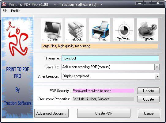 Vorschau Pint To PDF Pro - Bild 1