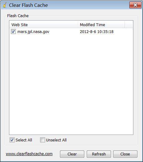 Vorschau Clear Flash Cache - Bild 1