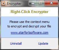 Vorschau Right-Click Encrypter - Bild 1