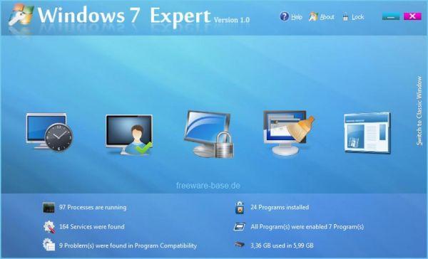 Vorschau Windows 7 Expert - Bild 1