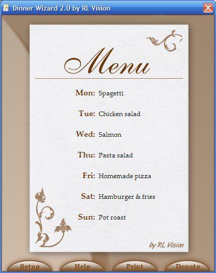 Vorschau DinnerWiz - Bild 1