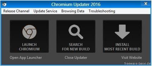 Vorschau Chromium Updater - Bild 1