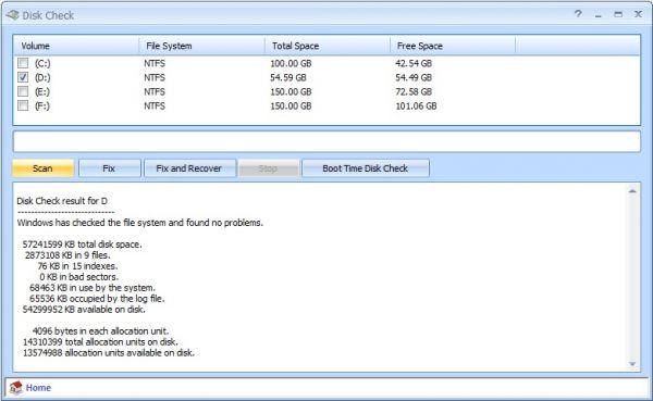 Vorschau Disk Check - Bild 1