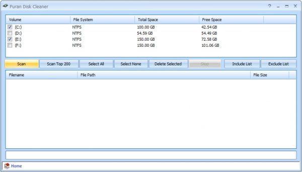 Vorschau Puran Disk Cleaner - Bild 1