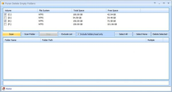 Vorschau Puran Delete Empty Folders - Bild 1