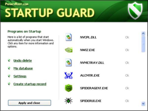 Vorschau Startup Guard - Bild 1