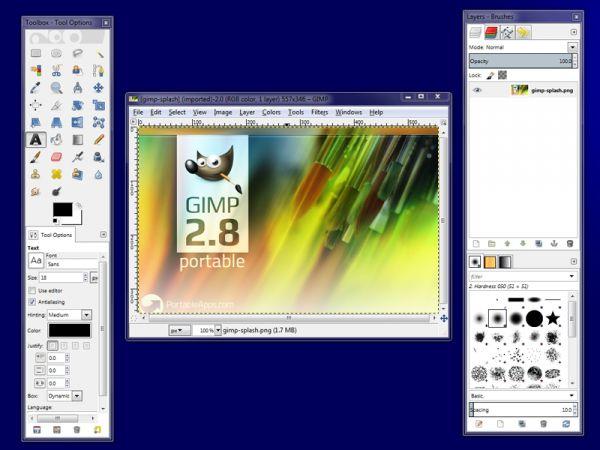 Vorschau GIMP Portable Help - Bild 1