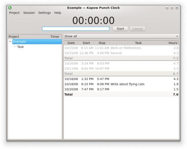 Vorschau Kapow for Linux - Bild 1
