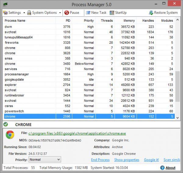 Vorschau Process Manager - Bild 1