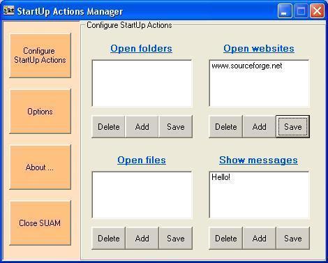 Vorschau StartUp Actions Manager - Bild 1