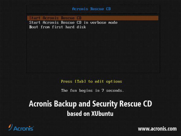 Vorschau Acronis Antimalware CD - Bild 1