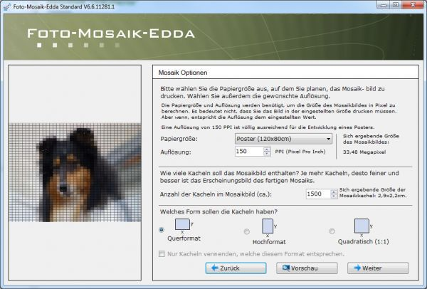 Vorschau Foto-Mosaik-Edda - Bild 1
