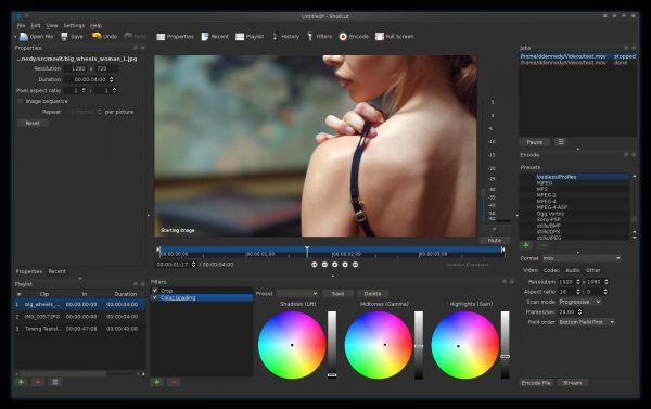 Vorschau Shotcut for Mac - Bild 1