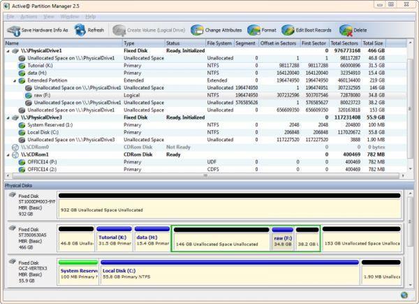 Vorschau Active Partition Manager - Bild 1